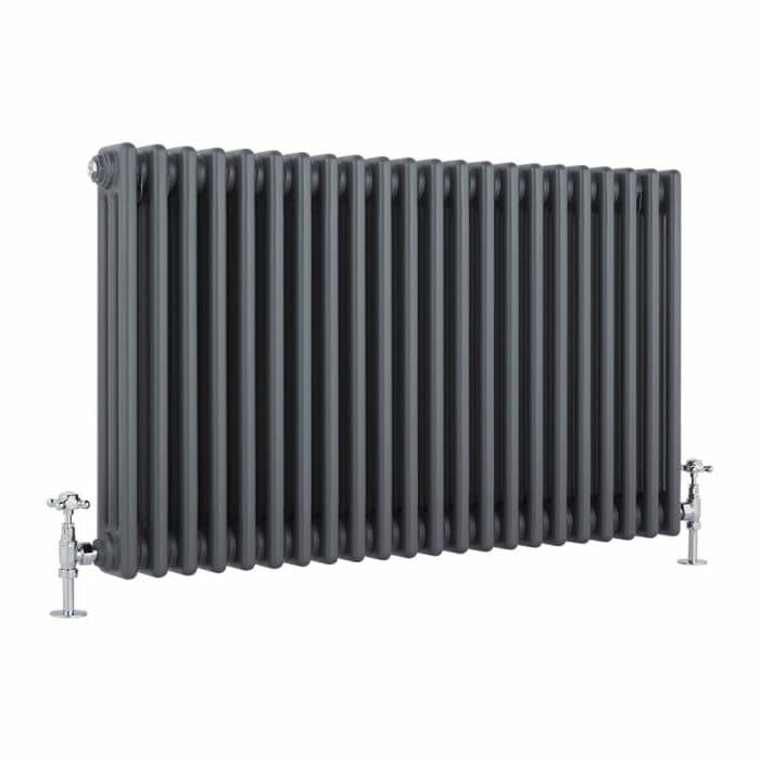 Milano Windsor anthracite column radiator