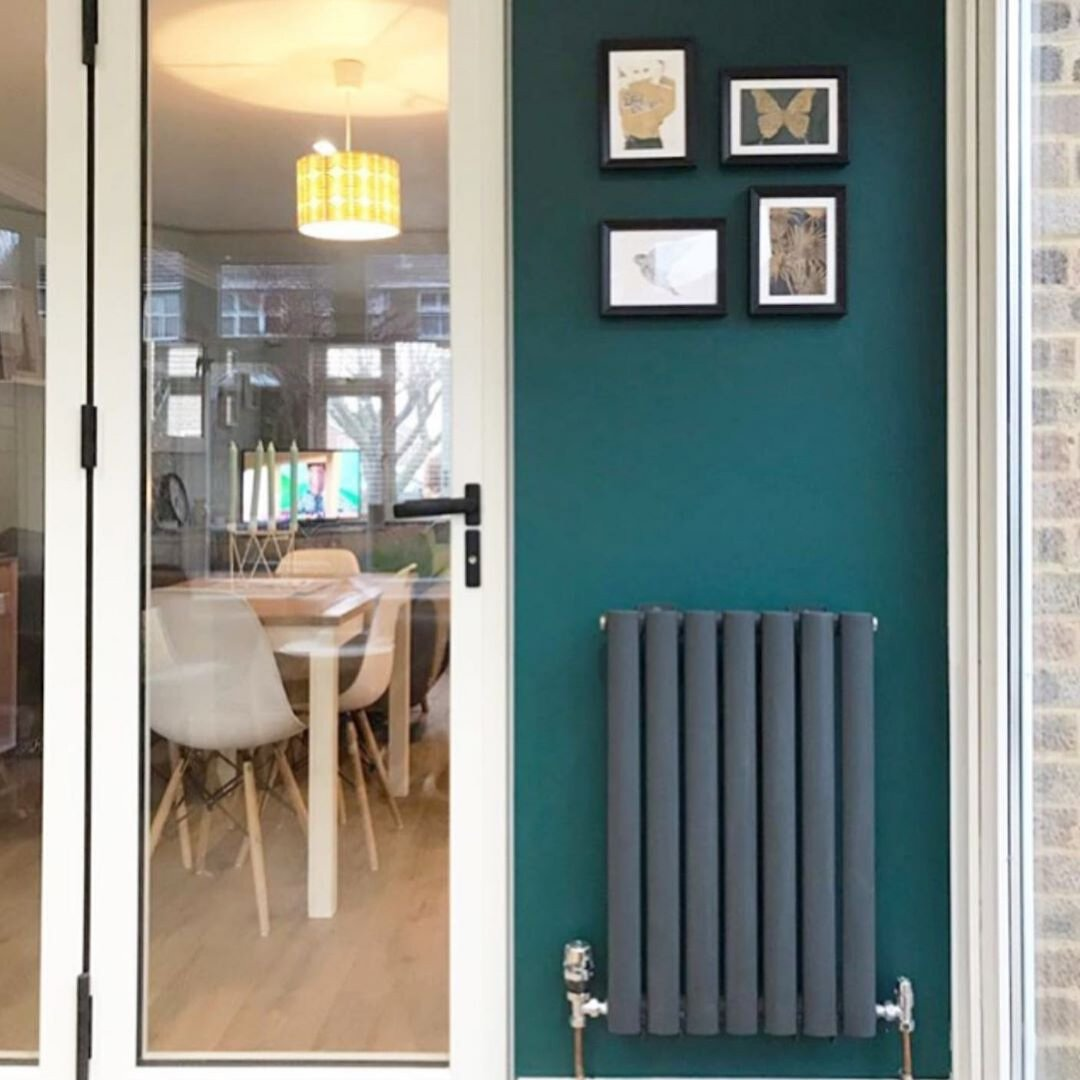 small aruba radiator in a conservatory