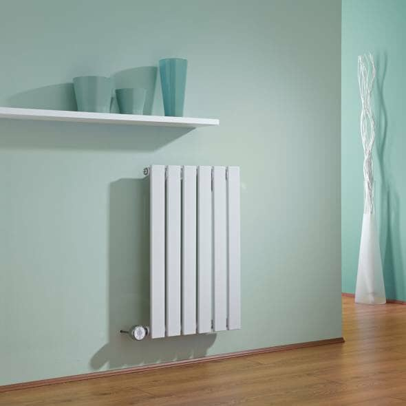 white electric radiator