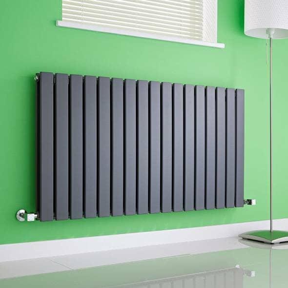 Double panel radiator