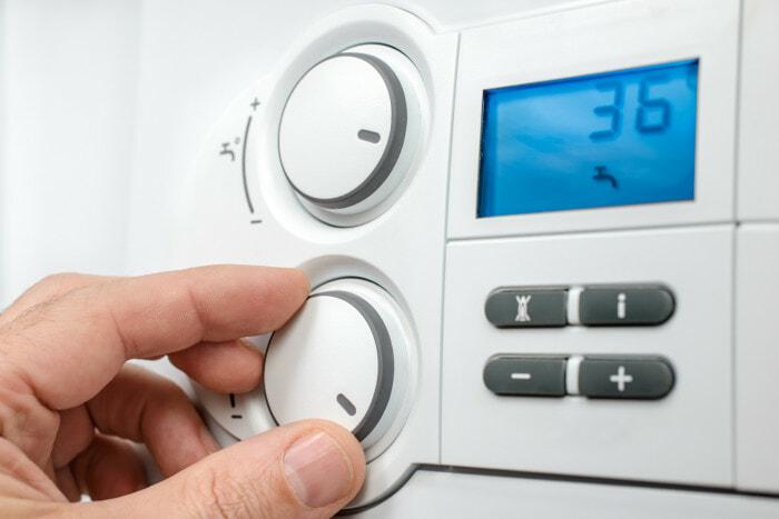 heating boiler controls