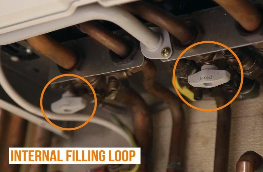 Fill Pressurised Boiler_5_Internal Filling Loop