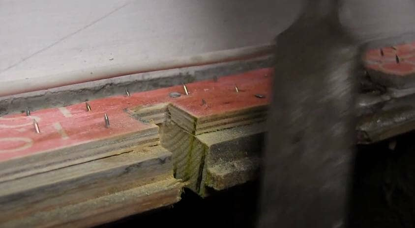 How to Install a Radiator_24_Cut the Floor_2