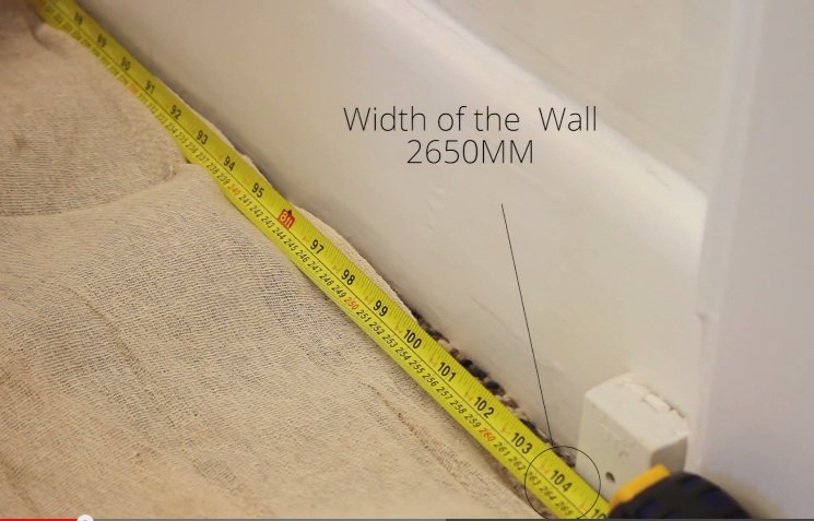 How to Install a Radiator_5_Width of the Wall