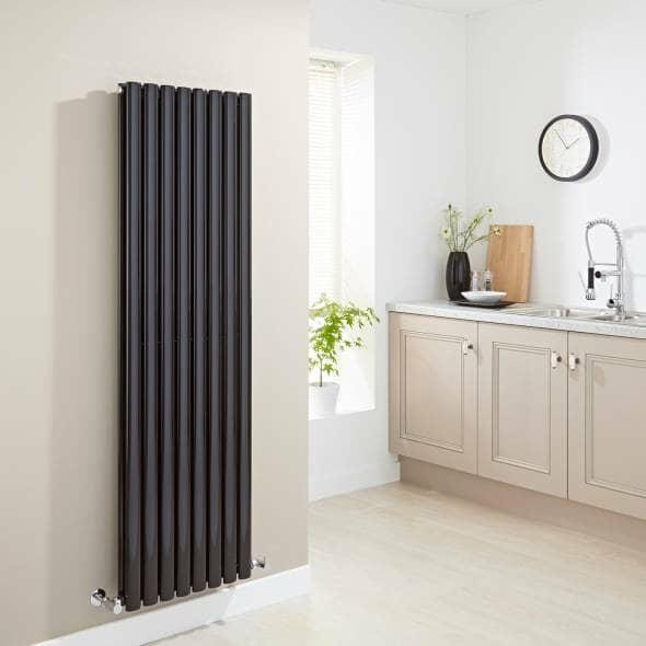 black kitchen radiator