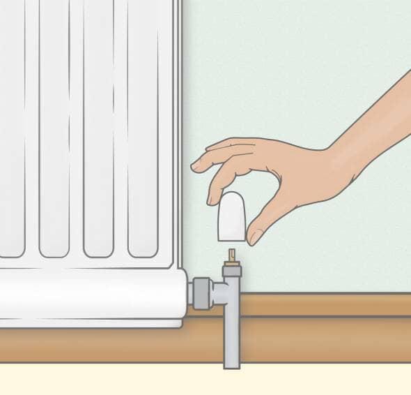 fix a leaky radiator