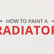 How to paint a radiator