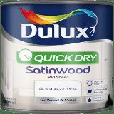 tin of white dulux radiator paint