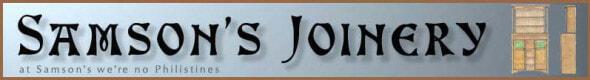 Samson's Joinery Logo