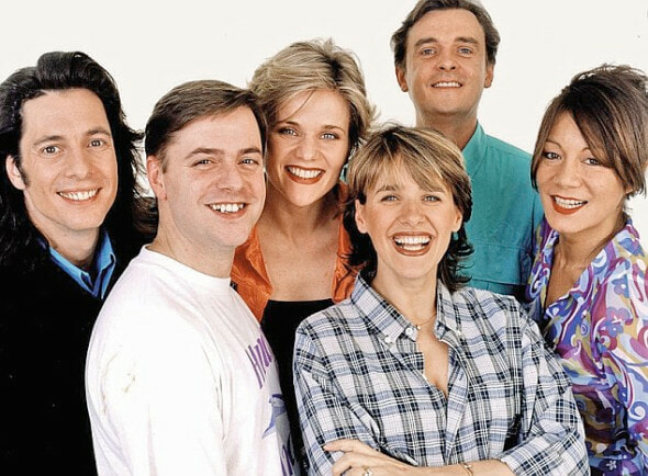 A picture of the Changing Rooms Team from the BBC