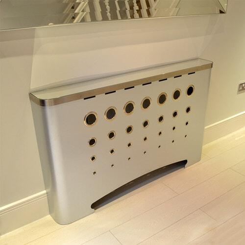 hallway-casa-radiator-covers-galvanised-with-mirror-top