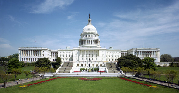 The Capitol Building in Washington