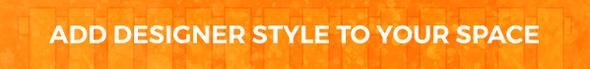 Designer style blog banner