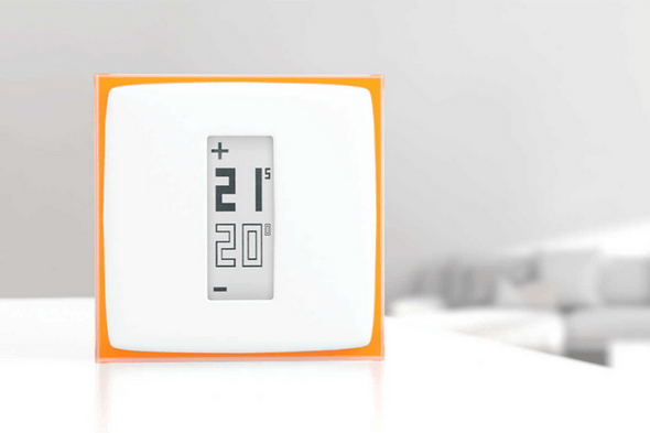 a netatmo smart thermostat