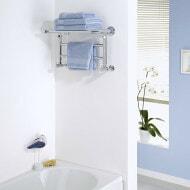Small Milano Pendle Heated Towel Rail
