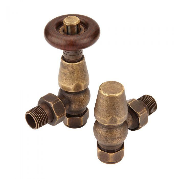 traditional bronze radiator valves