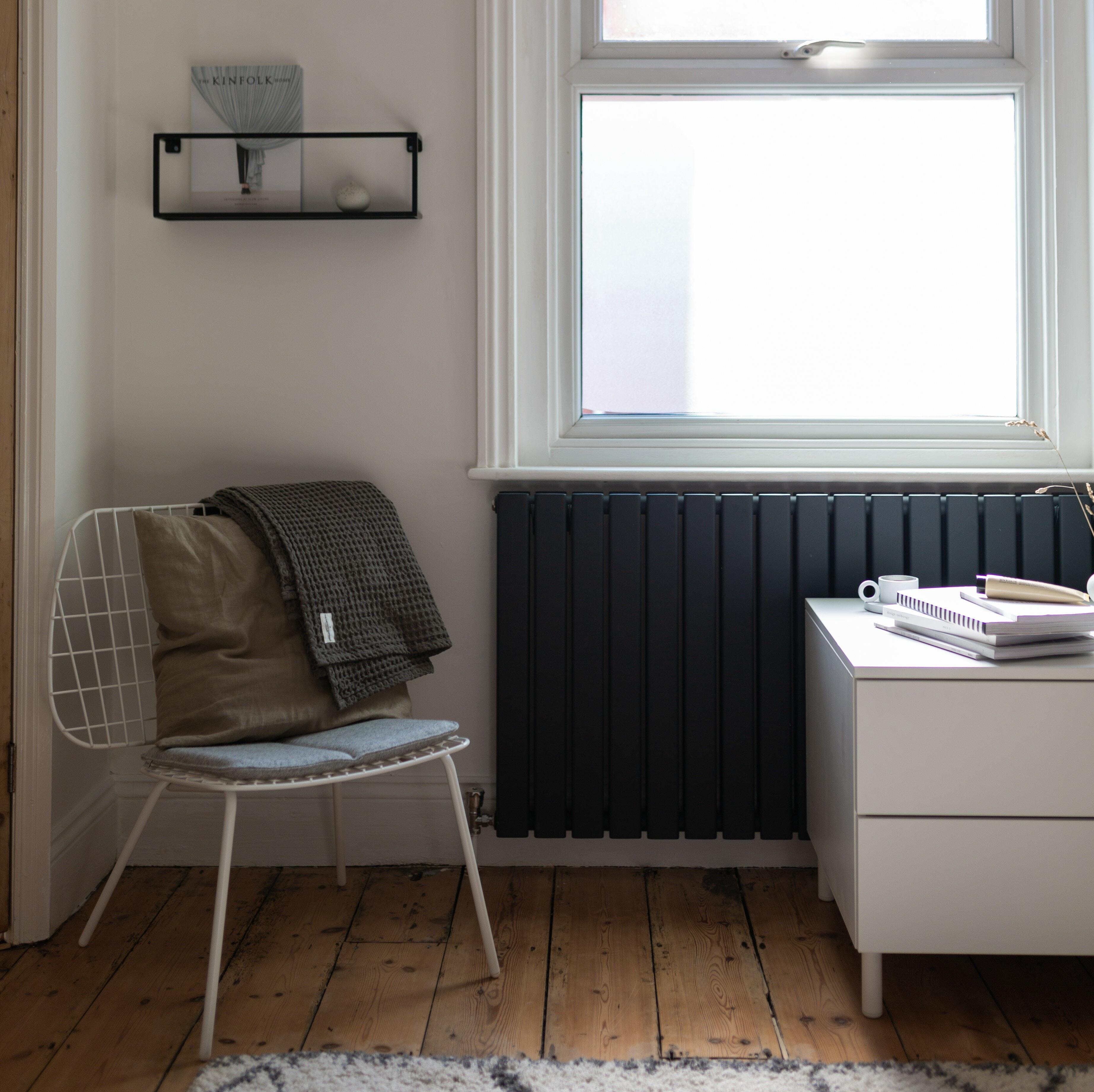 Modern Milano Capri radiator in a Nordic style room