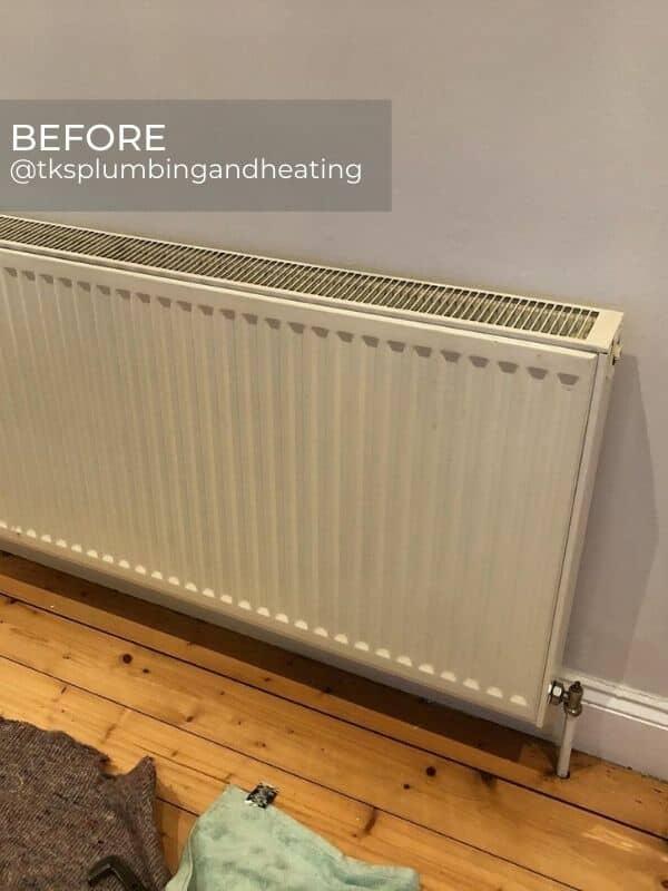 old convector radiator