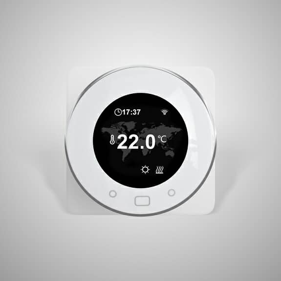 Dial operated Milano Connect heating thermostat