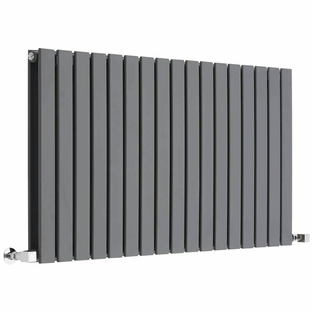 Milano Alpha anthracite designer radiator