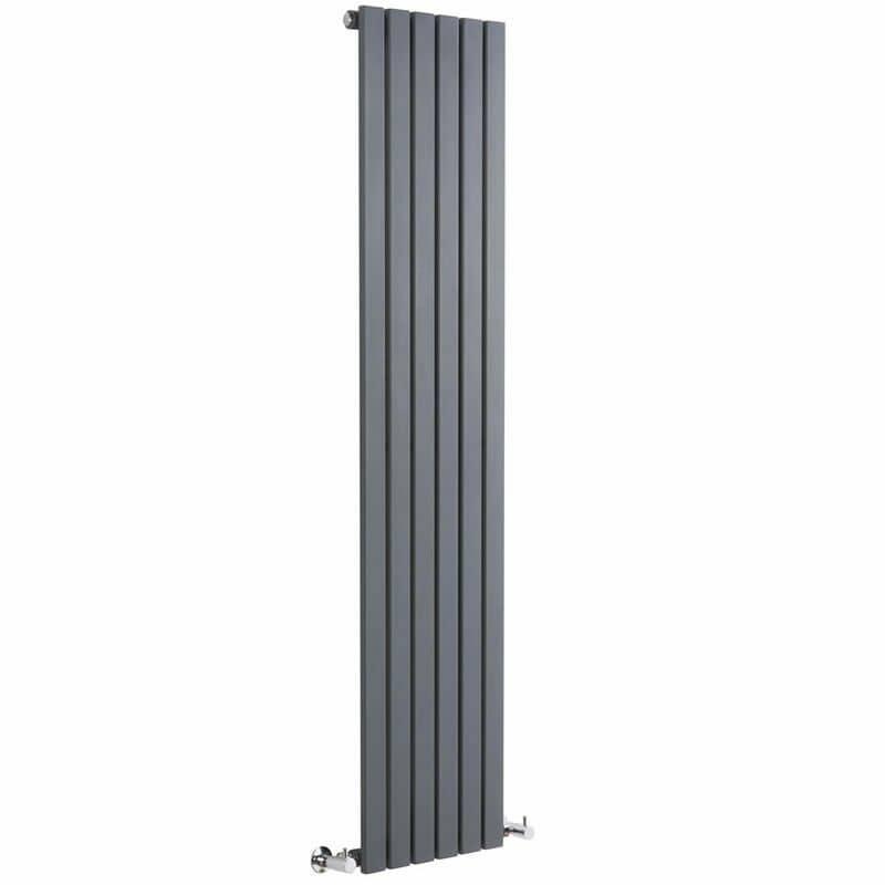 Vertical Milano Alpha designer radiator