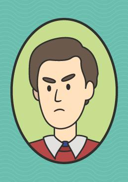 cartoon image of alan partridge the steve coogan character