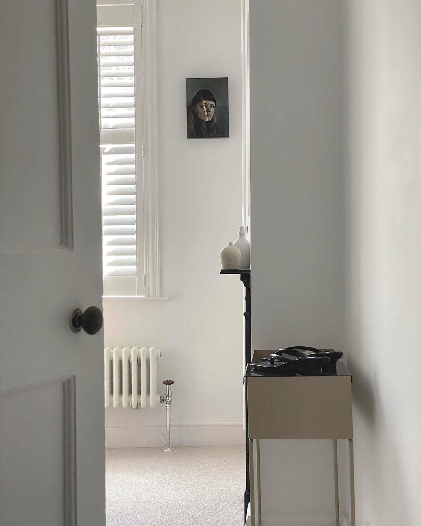 Donna's door opening revealing a Milano Windsor radiator