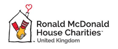 The Ronald McDonald House Charities logo