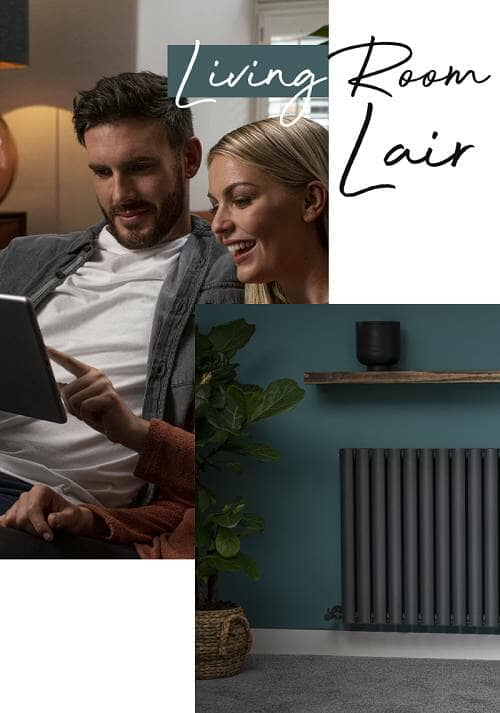 radiators for your living room banner