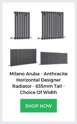 milano aruba anthracite designer radiators