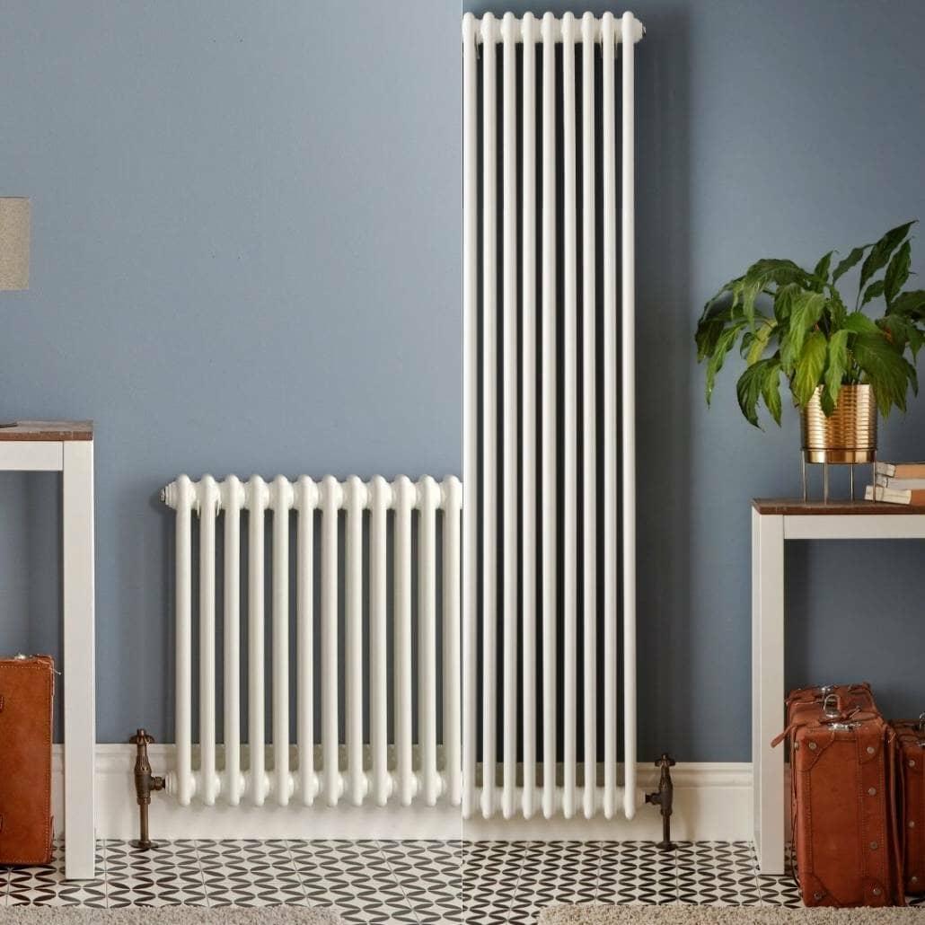 horizontal and vertical column radiator