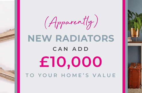 New radiators add home value blog banner