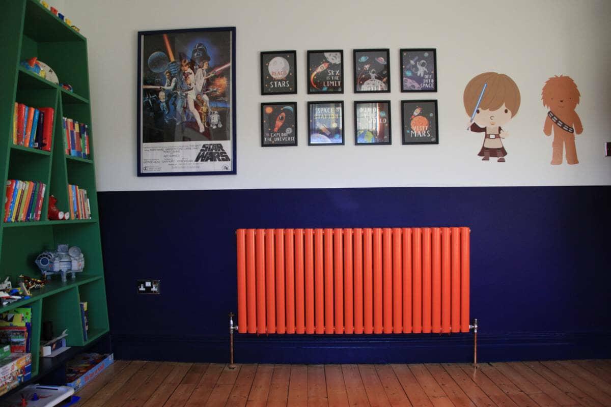 Fresh start living orange radiator