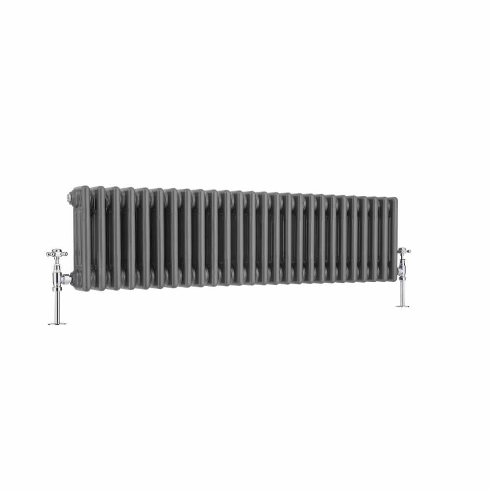 Windsor-Horizontal-Triple-Column-Lacquered-Raw-Metal-Traditional-Cast-Iron