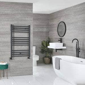 Milano Artle anthracite towel rail