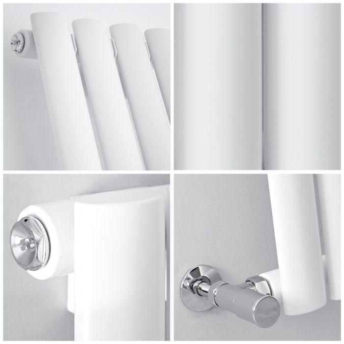 quad image of a milano aruba radiator