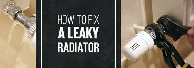 How to fix a leaky radiator blog banner