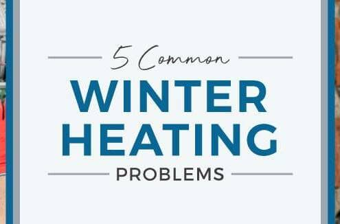 Common winter heating problems blog banner