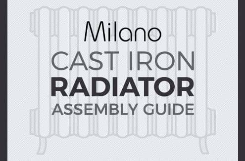Milano Cast Iron Radiator Assembly Guide Featured Image