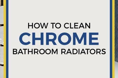 how to clean chrome bathroom radiators blog banner