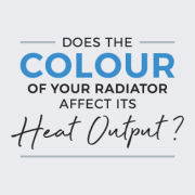 does the colour of your radiator affect its heat output
