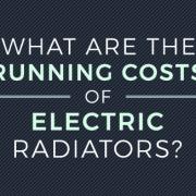 electric radiators runnign costs banner