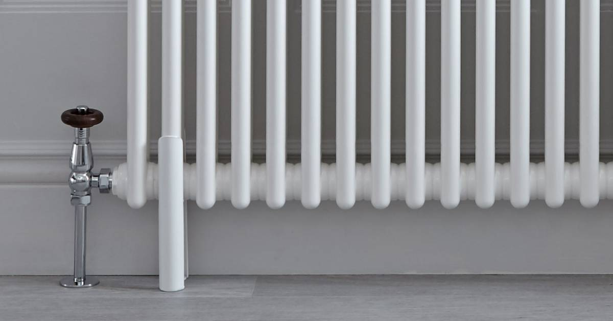 radiator pipework and valves