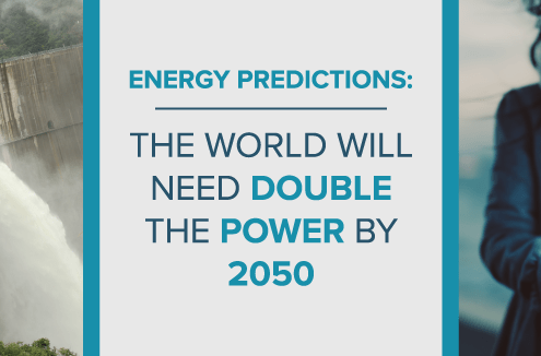Energy Predictions: The World Will Need Double the Power by 2050 blog banner