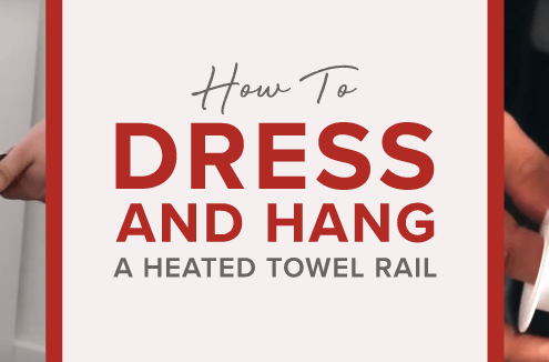 How to dress and hang a HTR blog banner