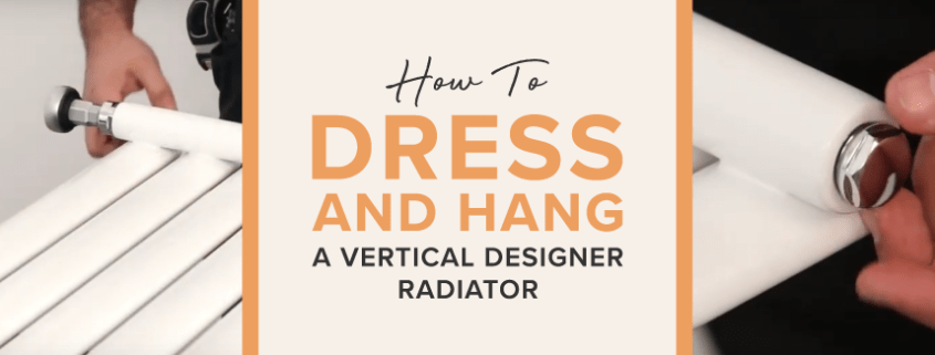how to dress and hang a vertical designer radiator featured image