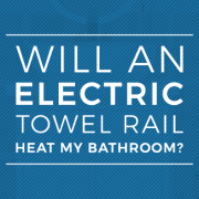 electric towel rail in the bathroom blog banner