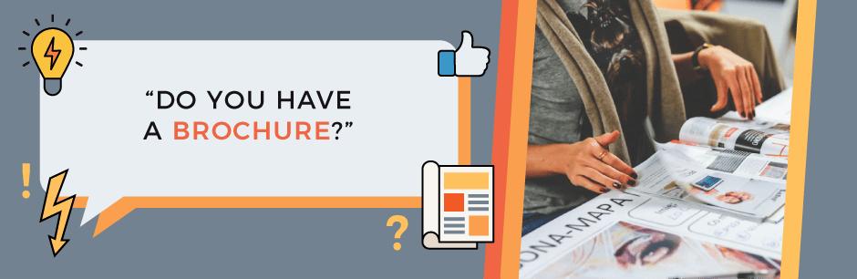Do you have a brochure FAQ header image