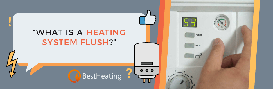 FAQ Header Image (What is a heating system flush?)
