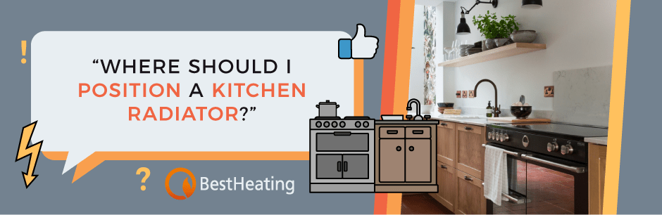 FAQ Header Image (Where should I position a kitchen radiator?)